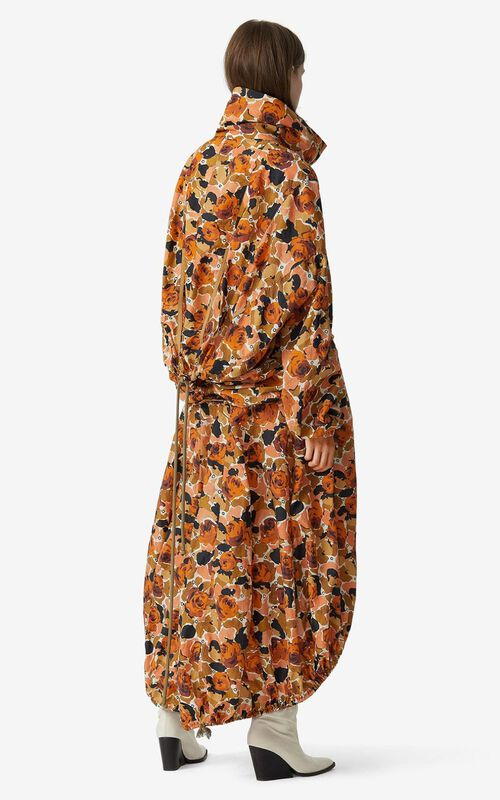 PEACH Rose Camo' parachute dress for men KENZO