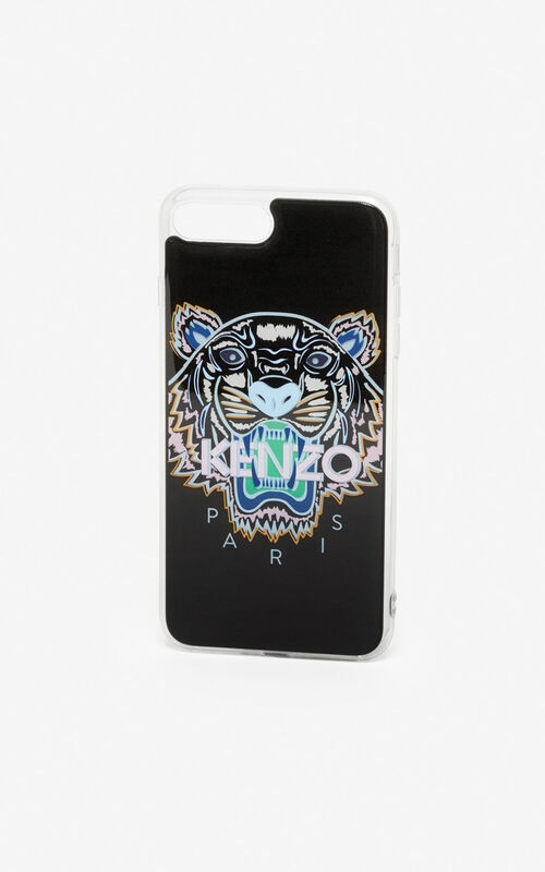 BLACK iPhone 8+ Tiger case for unisex KENZO