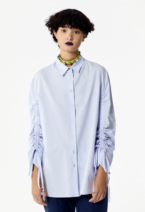 LIGHT BLUE Ruffled shirt for women KENZO