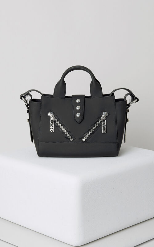 BLACK Mini Kalifornia Gommato in leather for unisex KENZO