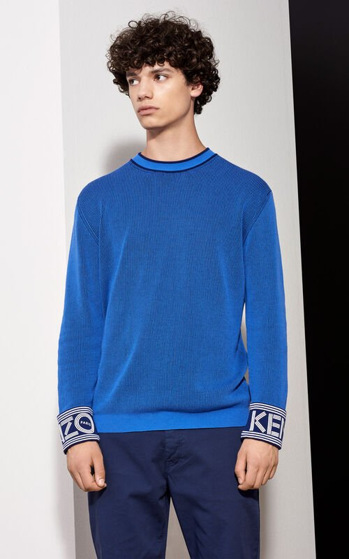 PERRIWINKLE KENZO Ribbed Sweater for women