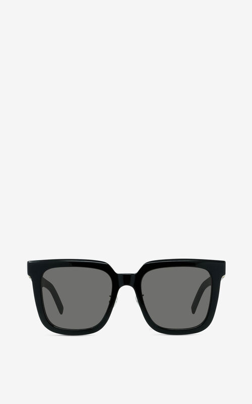 BLACK K Logo sunglasses for unisex KENZO