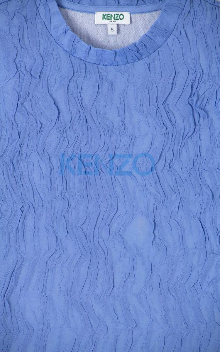 WISTERIA 'Wet Effect' top for women KENZO