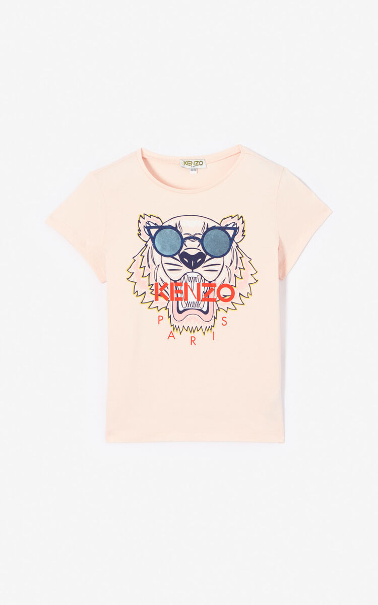 FADED PINK Tiger T-shirt for men KENZO