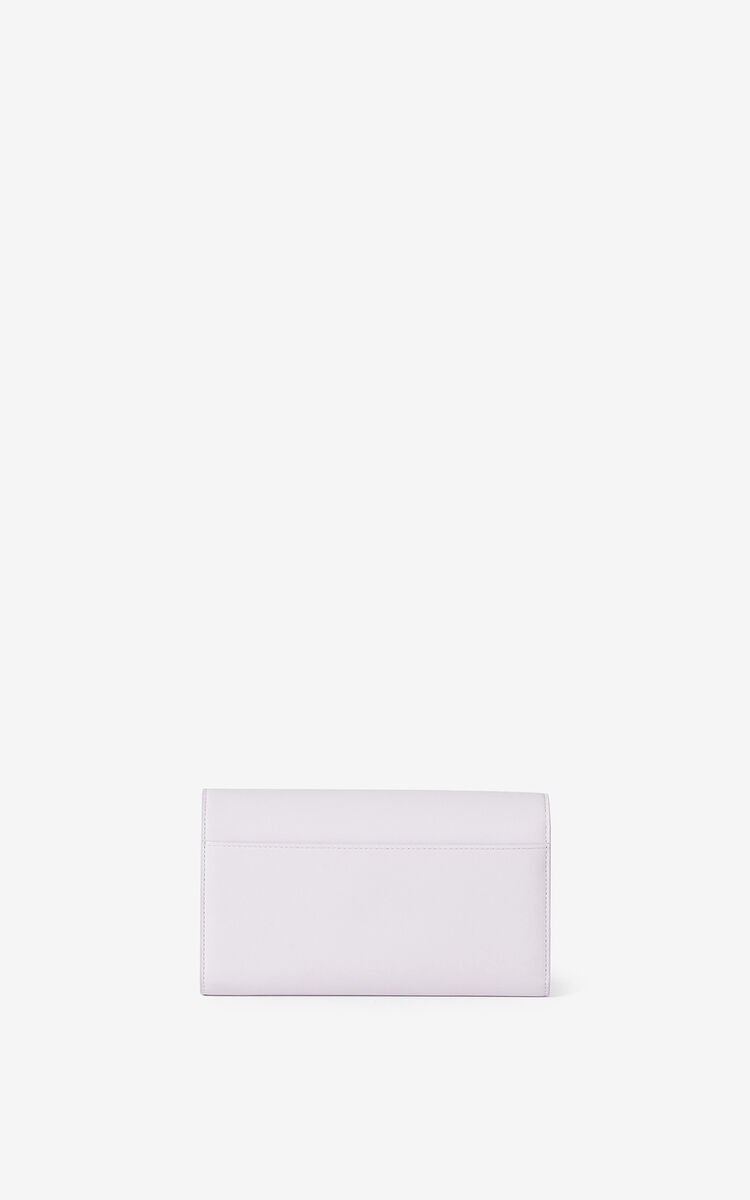WISTERIA KENZO K leather chain wallet for women