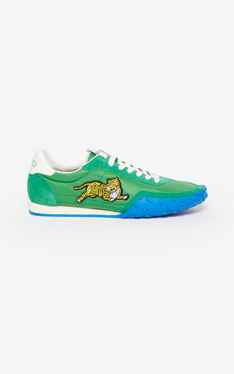 GRASS GREEN KENZO MOVE Sneaker for women