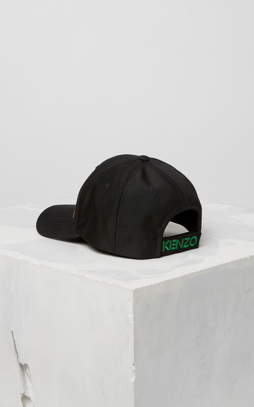 BLACK 'Holiday Capsule Collection' Tiger Cap for unisex KENZO