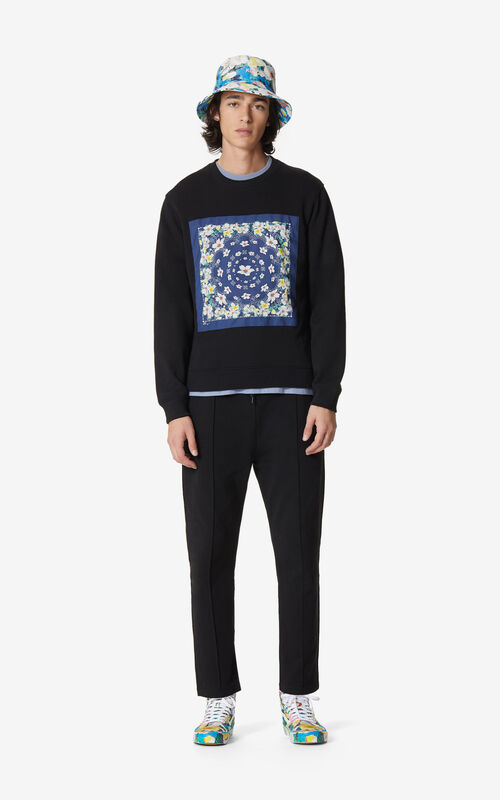 BLACK 'Bandana' sweatshirt for women KENZO