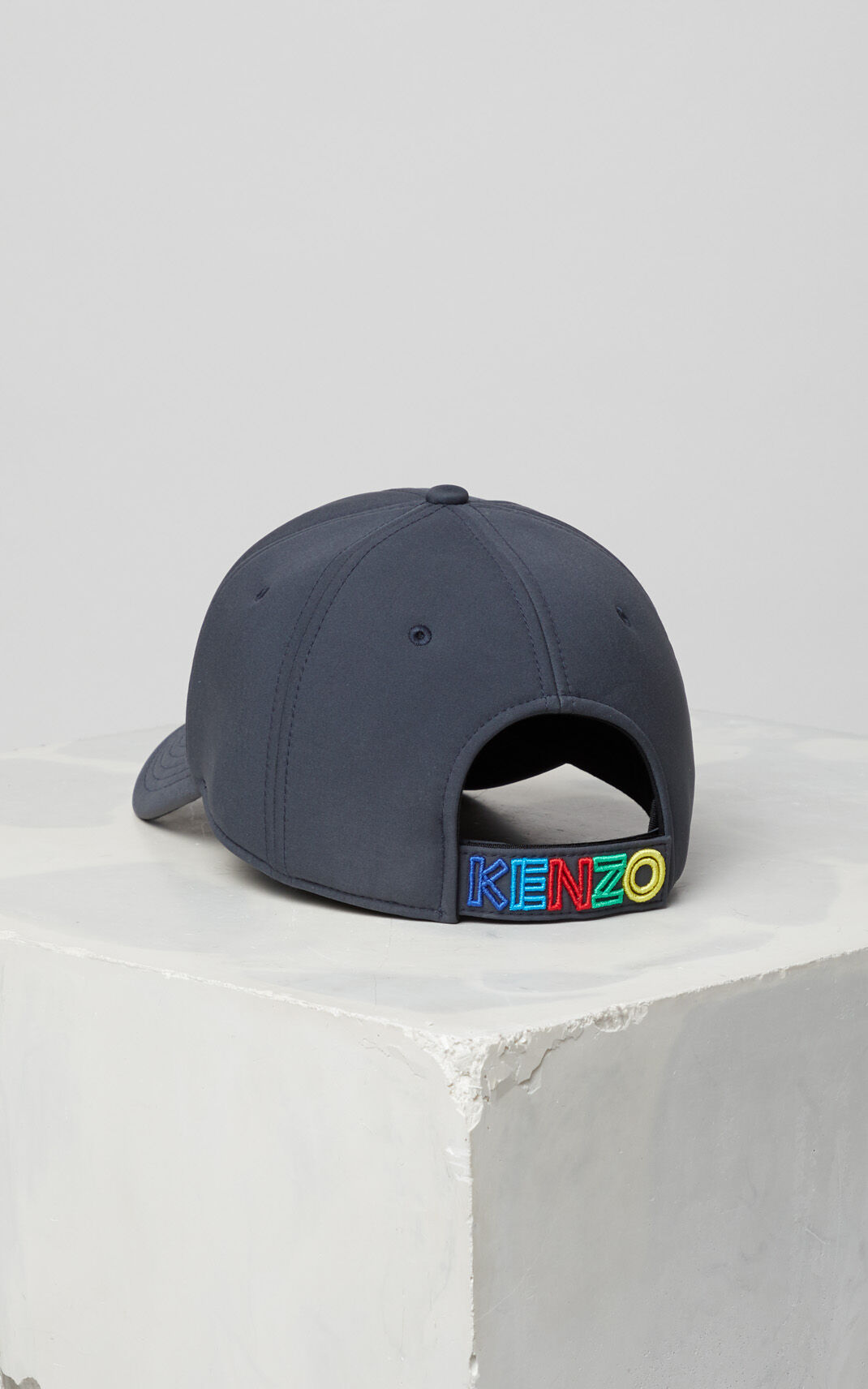 ANTHRACITE 'High Summer Capsule Collection' Neoprene Tiger cap for women KENZO