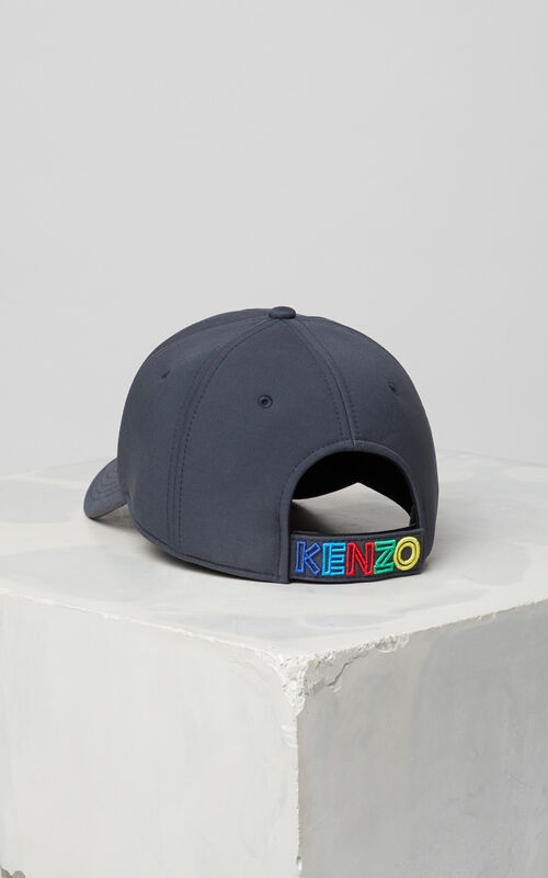 ANTHRACITE 'High Summer Capsule Collection' Neoprene Tiger cap for unisex KENZO