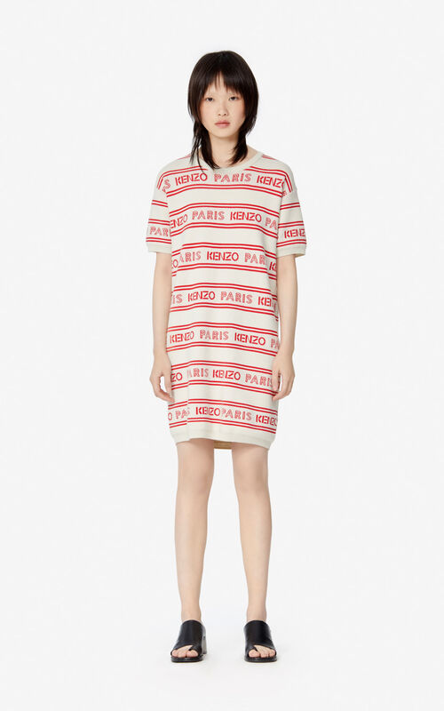 OFF WHITE KENZO knit dress for women