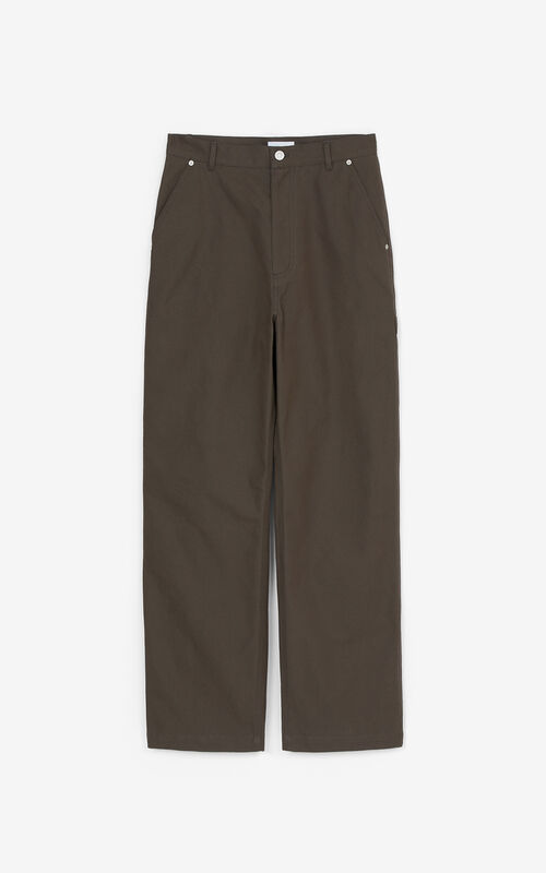 BRONZE Straight-fit trousers for unisex KENZO