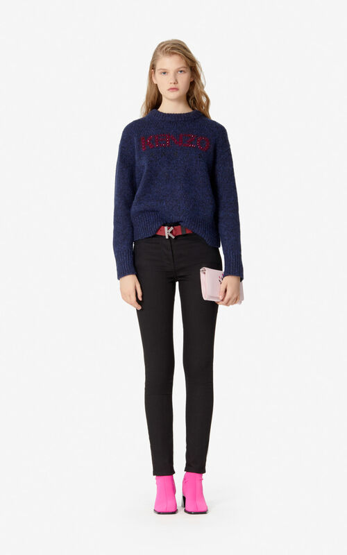 NAVY BLUE KENZO jumper for women