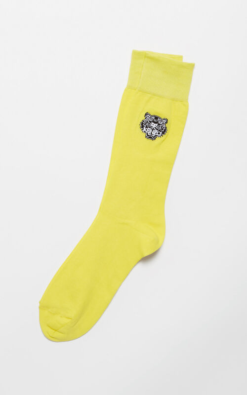 LEMON Tiger socks for women KENZO