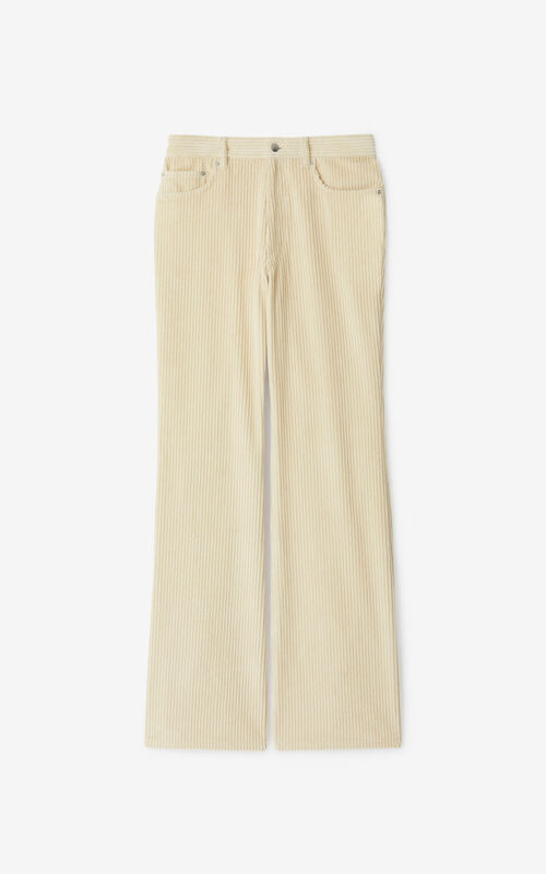 SAND Flared corduroy trousers for unisex KENZO