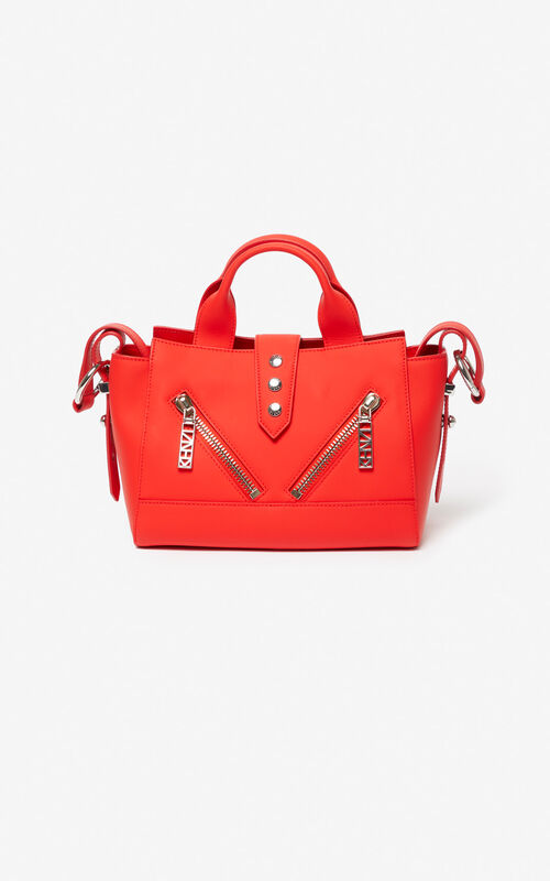 FIRE Mini Kalifornia bag Gommato leather for unisex KENZO