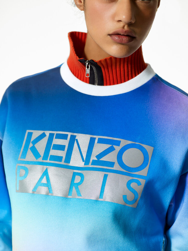 DEEP FUSCHIA Northen Lights' Sweatshirt  for women KENZO