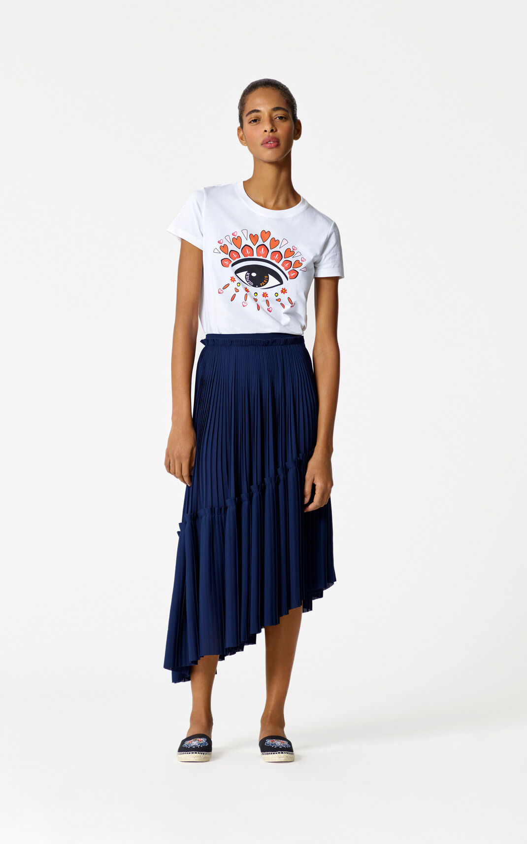 WHITE 'Valentine's Day Capsule' Eye t-shirt for women KENZO