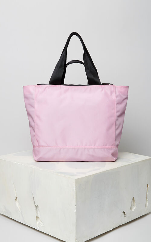 FLAMINGO PINK Tiger tote bag for women KENZO