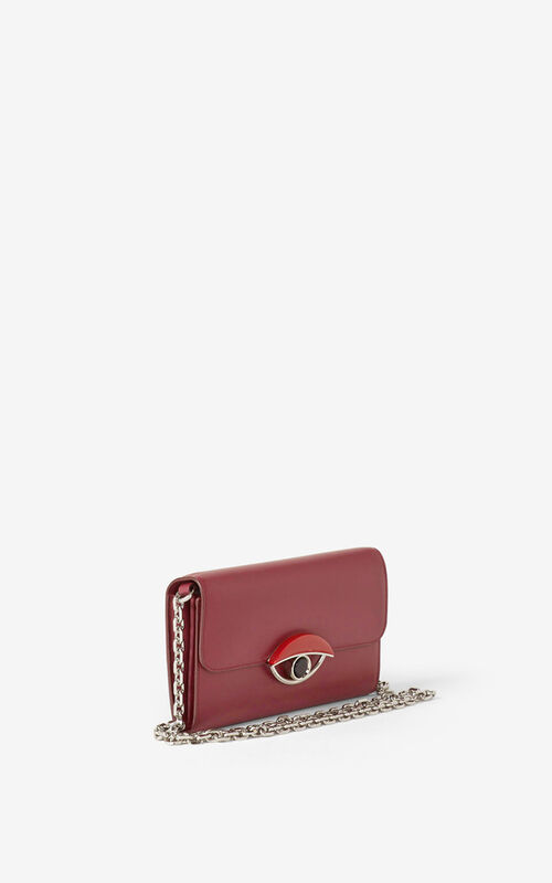 CARMINE TALI leather wallet with chain for women KENZO
