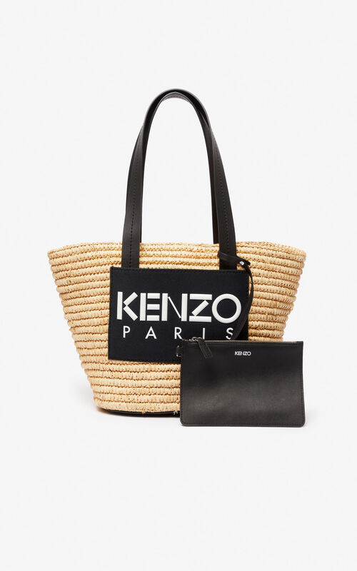 BLACK Summer basket for unisex KENZO