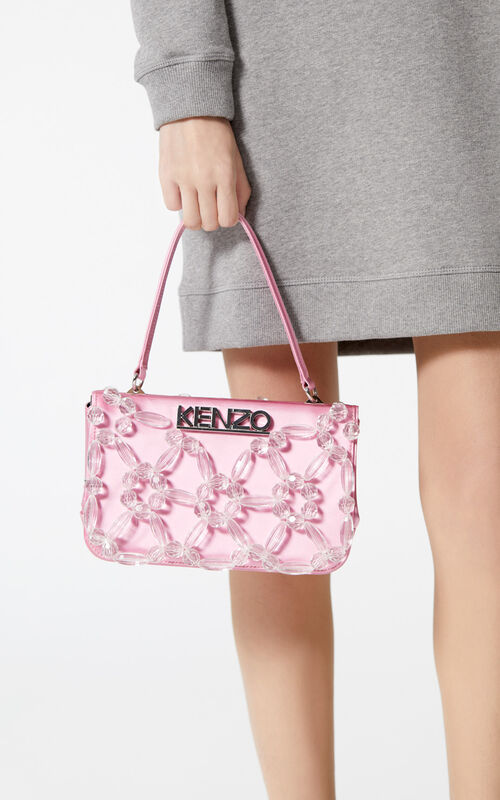 FADED PINK Kyoto handbag for women KENZO