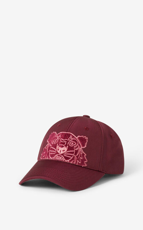 CARMINE Kampus Tiger canvas baseball cap for men KENZO