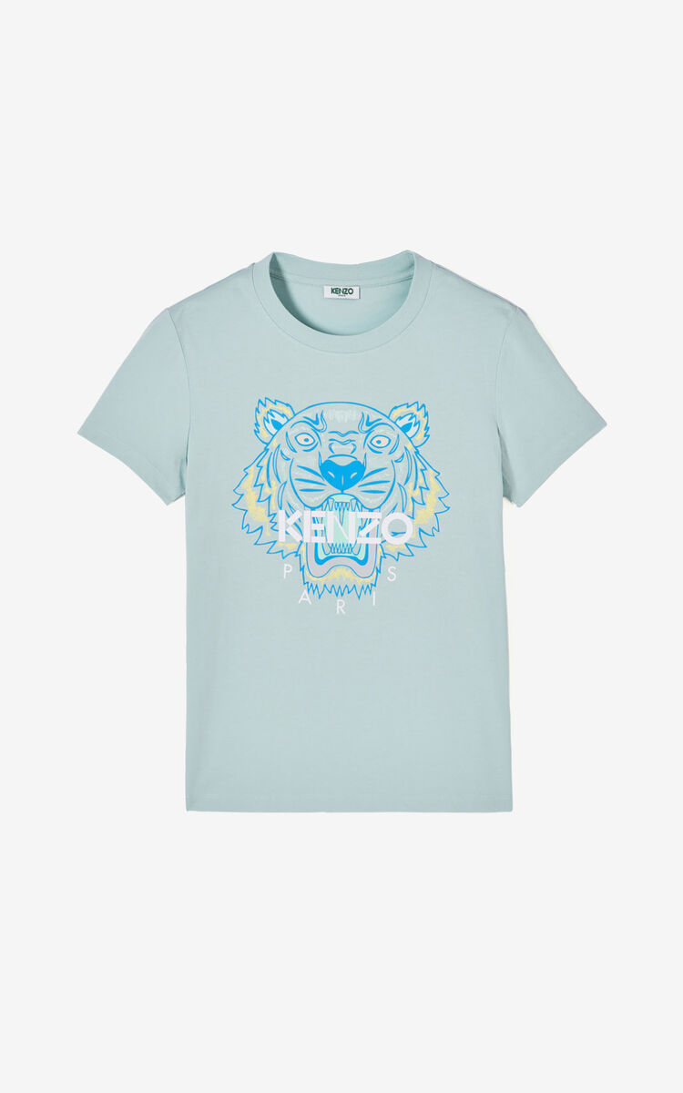 TEA GREEN Tiger T-shirt for women KENZO