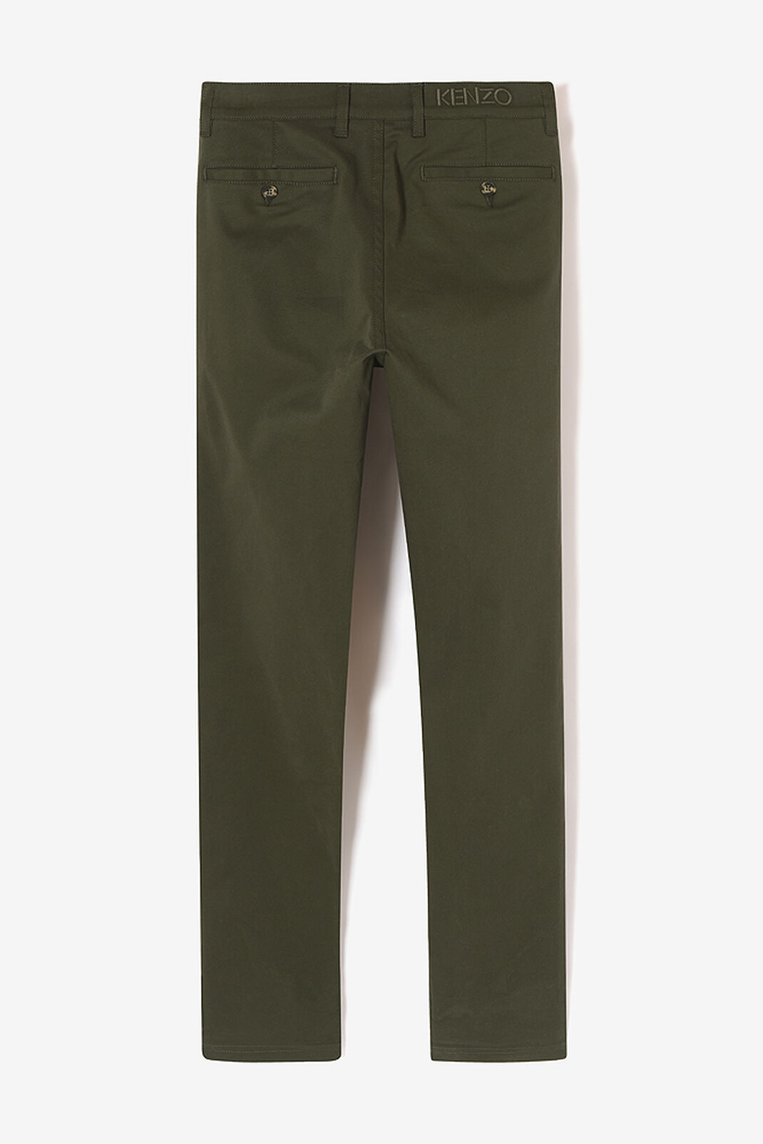 DARK KHAKI Cotton Chino for men KENZO
