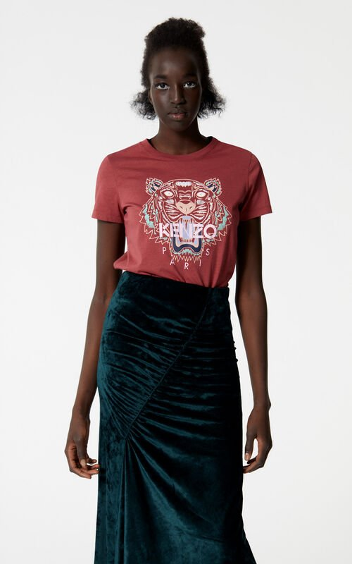 SUEDE Tiger T-shirt for women KENZO