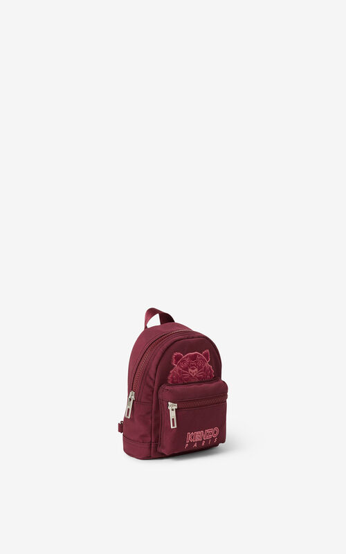CARMINE Mini canvas Kampus Tiger backpack for women KENZO