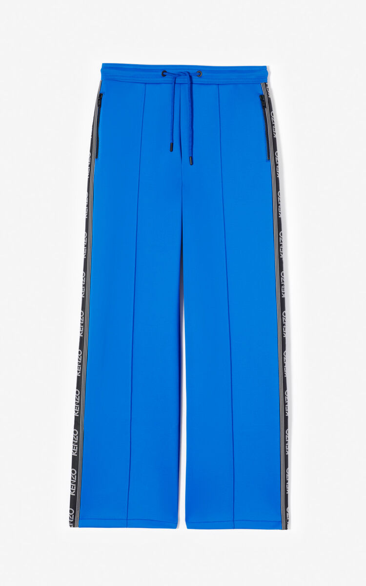 FRENCH BLUE KENZO Logo jogging bottoms for men