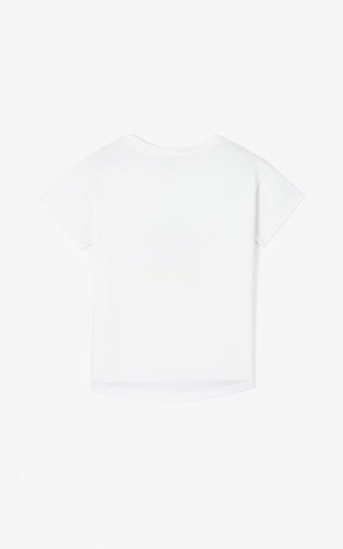 WHITE 'Cupid' T-shirt for women KENZO