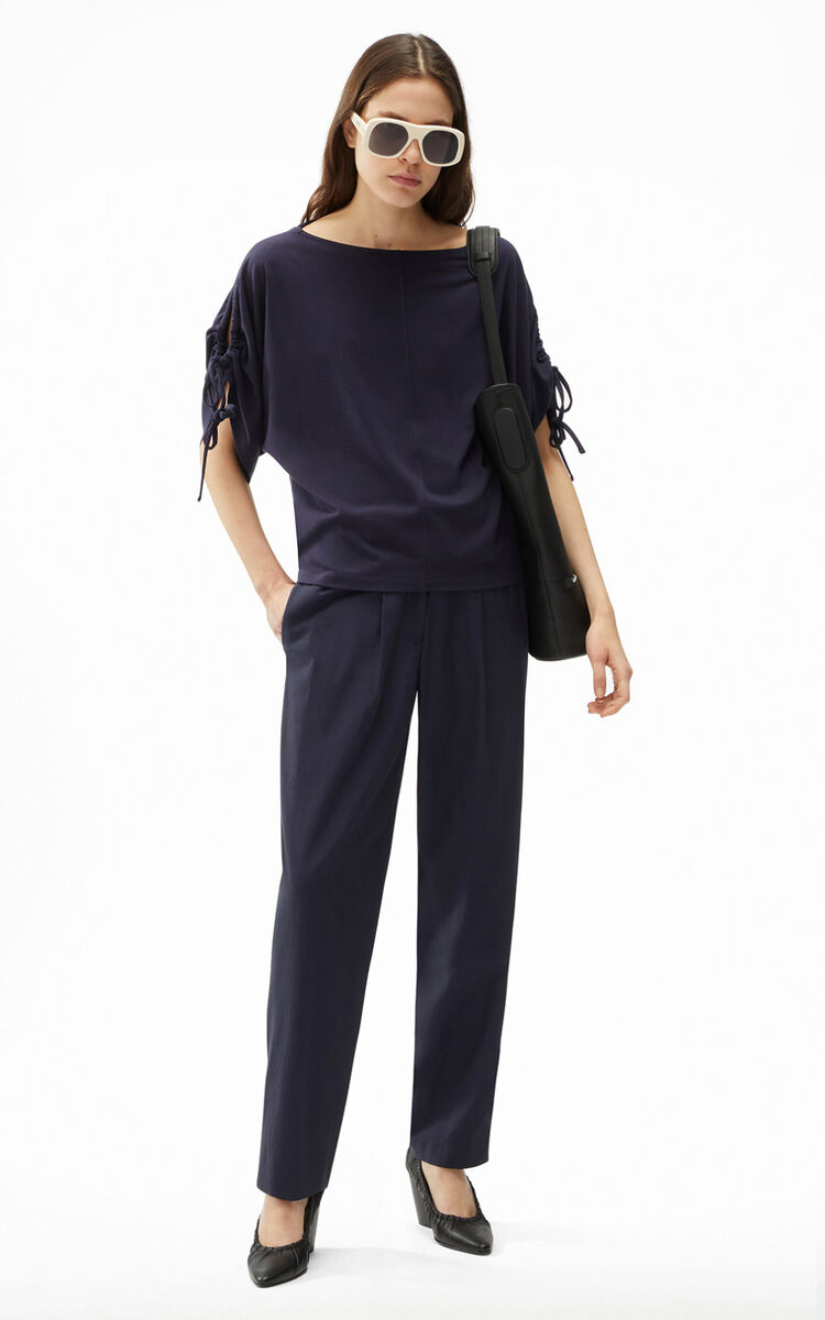 NAVY BLUE Loose-fitting T-shirt for women KENZO