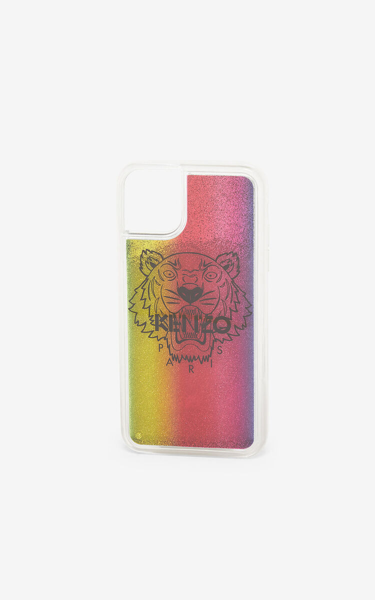 MULTICOLOR iPhone XI Pro Tiger case for unisex KENZO