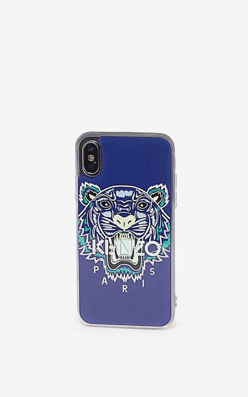 ELECTRIC BLUE iPhone X/XS Case for men KENZO