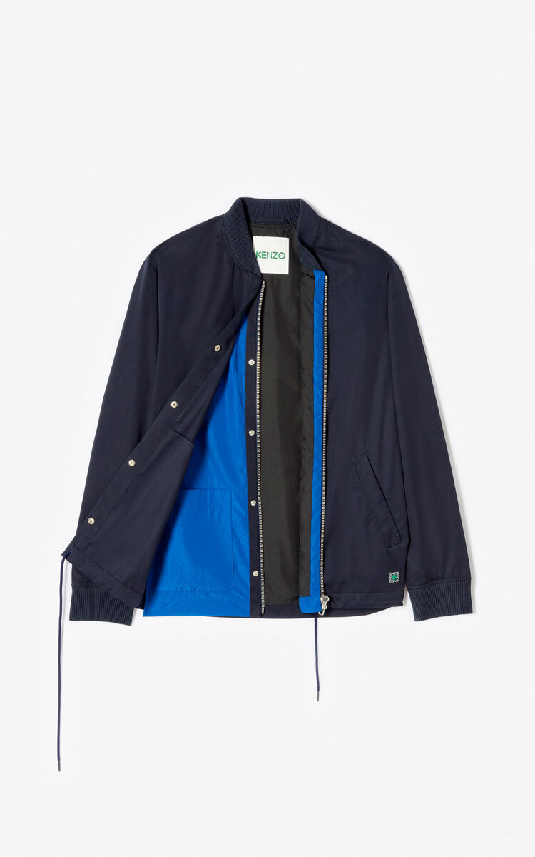 MIDNIGHT BLUE 2-in-1 jacket for men KENZO