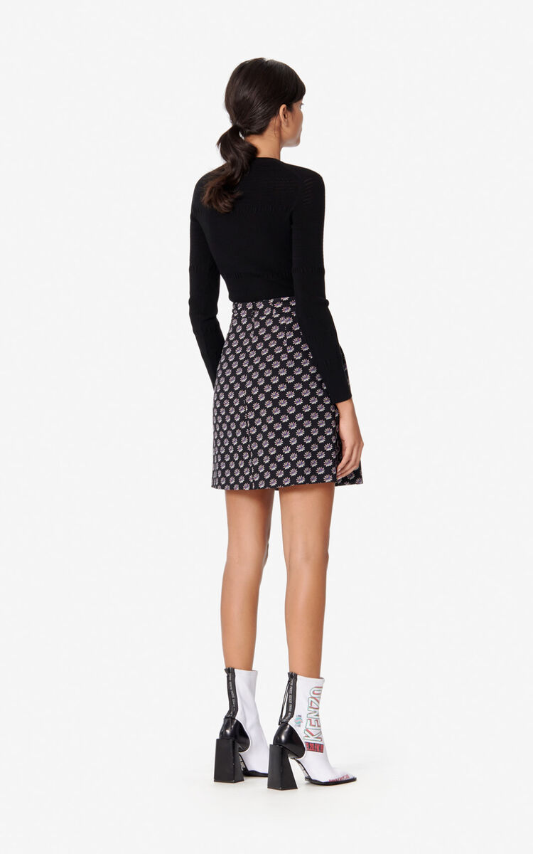 BLACK Fitted jumper for women KENZO