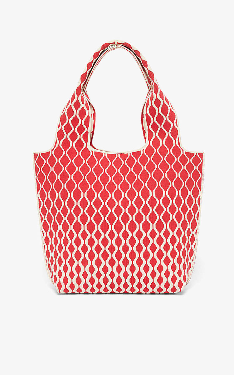 MEDIUM RED Small Skuba tote bag for unisex KENZO