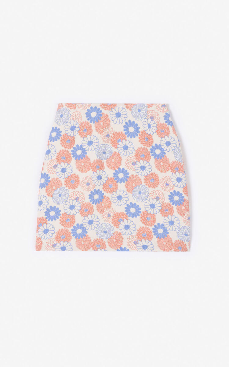 FADED PINK 'Ume Flower' skirt for women KENZO