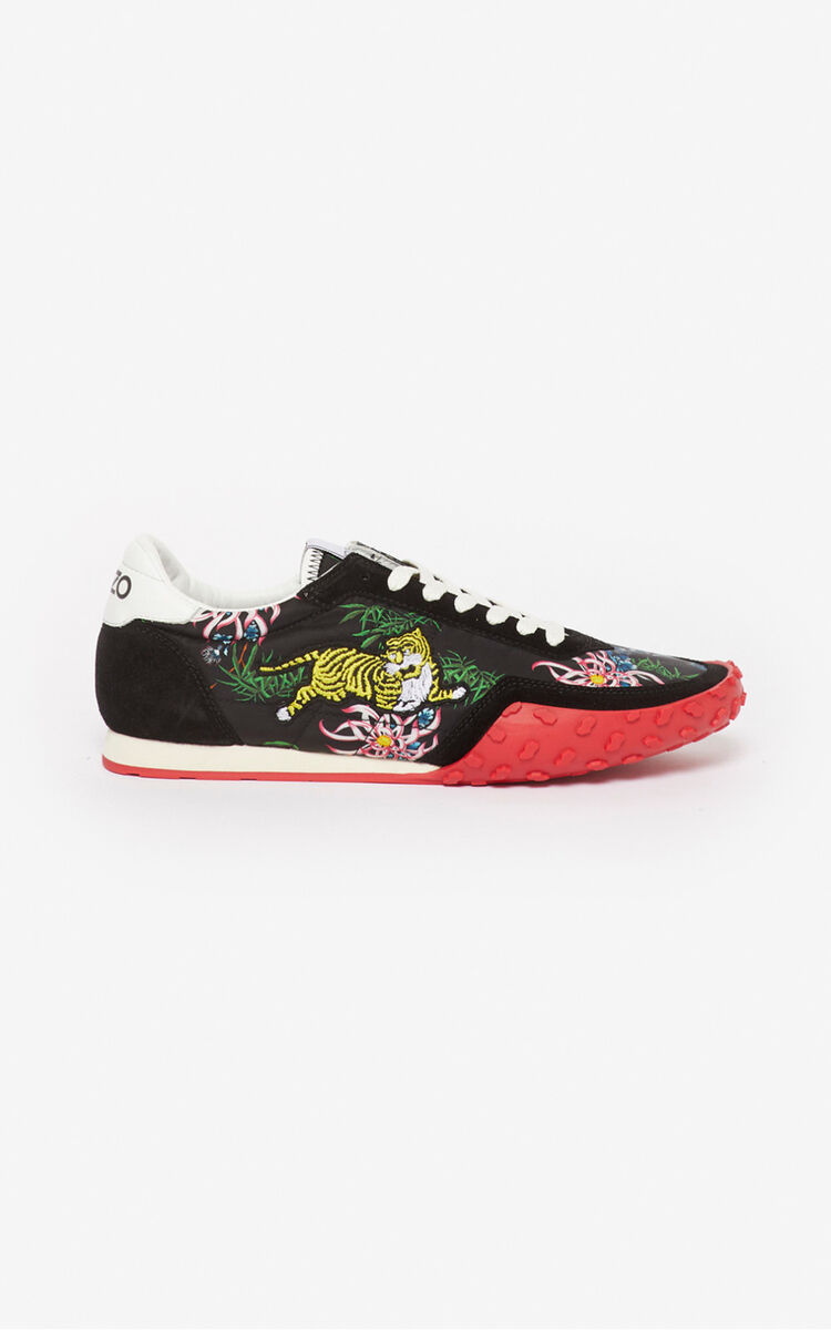 BLACK 'Sea Lily' KENZO MOVE sneakers for unisex