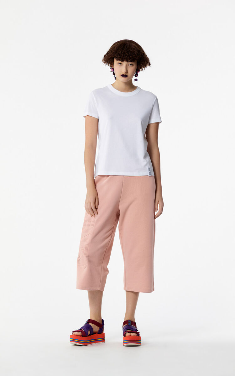 SKIN Cropped KENZO Logo Trousers for women