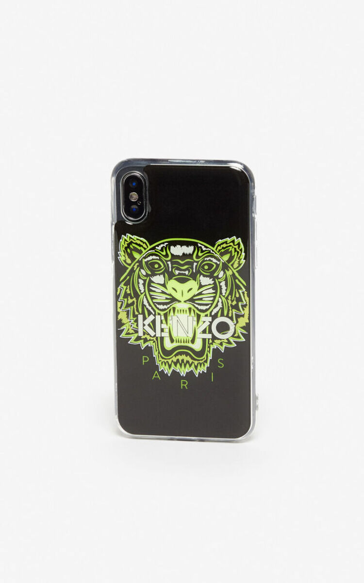 BLACK iPhone X/XS Tiger case for unisex KENZO