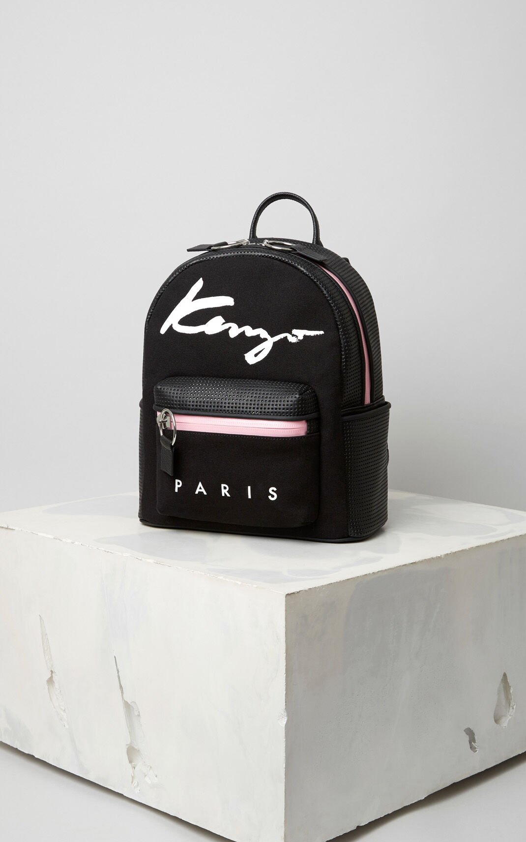 BLACK Small KENZO Signature Backpack for women