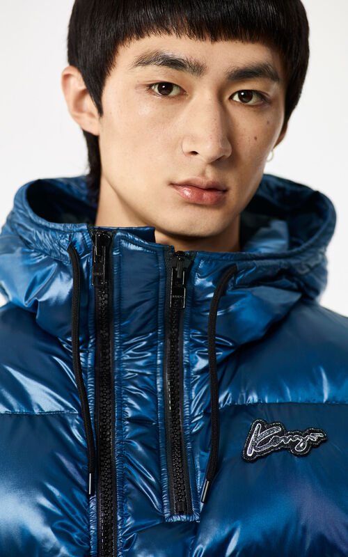 NAVY BLUE 'Holiday Capsule Collection' Puffa Jacket for men KENZO