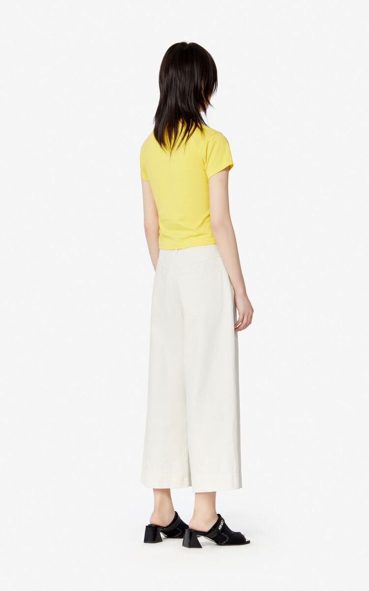 LEMON Boxy 'K Waves' T-shirt for women KENZO