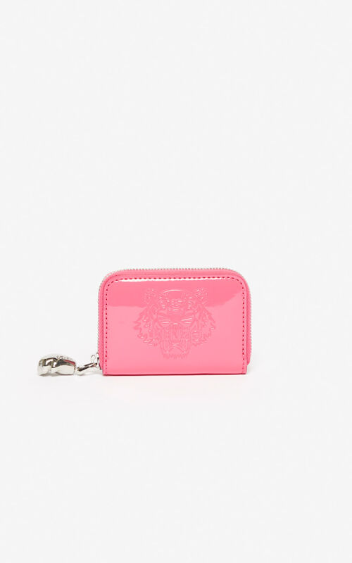 DEEP FUSCHIA Tiger coin purse for unisex KENZO