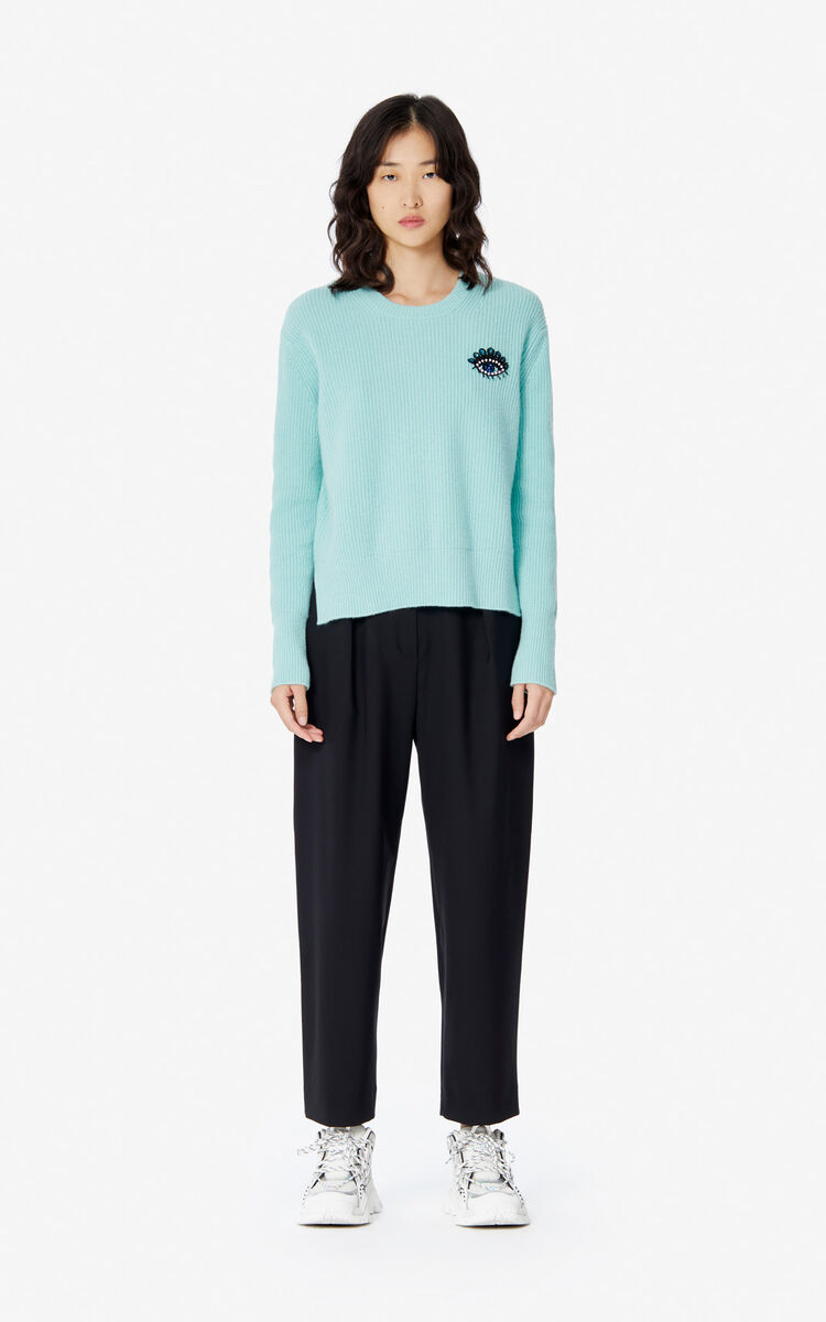 MINT 'Holiday Capsule' cashmere Eye jumper for women KENZO