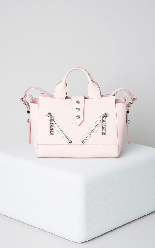 FADED PINK Mini Kalifornia Gommato in leather for women KENZO