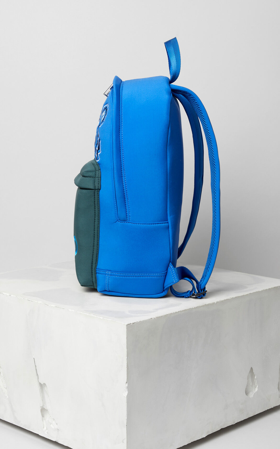 FRENCH BLUE Large neoprene Tiger backpack for women KENZO